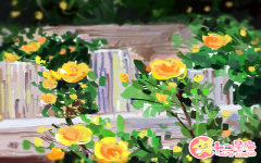 关于花的浪漫情诗 充满感情的诗句
