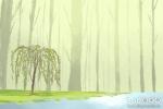 威海龙吸水奇观 乌云戏水画面