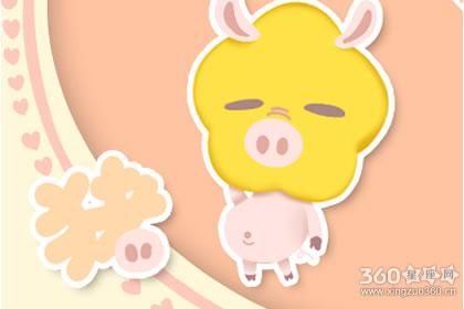 金猪年吉祥语 多少年为金猪年