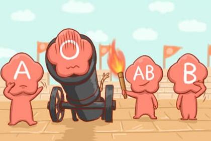 四大血型会因为什么跟别人拼命