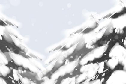 小寒的手抄报图片 小寒暖心祝福语
