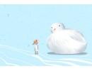小寒的简笔画图片 关于冬日的祝福语