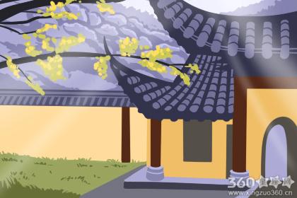 房屋大门的朝向跟门前栽树的关系