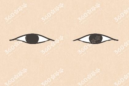 二十种眼形大全图解 女生眼型分类图解