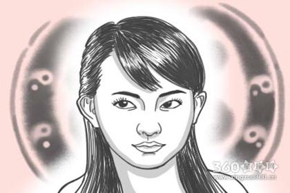 面相分析 女人面相额头窄好吗
