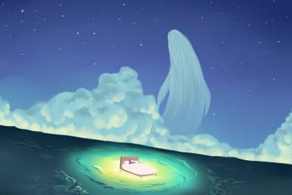 梦到满天繁星 梦见星空的预示有什么