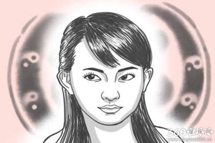 痣相解析 女生左眼皮有痣主大富大贵