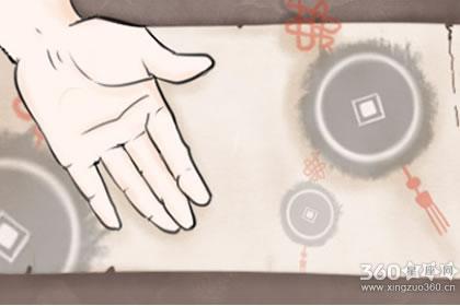 女手掌指纹算命图解 女生手相解析