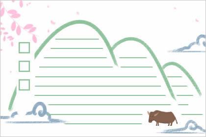 二十四节气霜降手抄报图片 关于霜降的小报