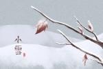 关于小雪的谚语 关于小雪的诗句古诗