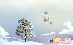 大雪节气古诗词 关于大雪节气的诗词