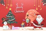圣诞节简笔画图片 圣诞节唯美简笔画