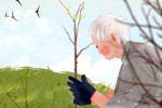 植树节爱护环境手抄报 植树节精美手抄报