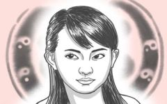 长痣面相图 女人脸上哪些痣不能动