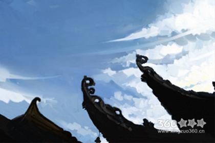 汉族服饰作画:汉族服饰简笔画欣赏
