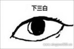 图文解读下三白眼的女人