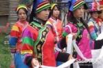 土族安召舞 柔美的民族舞姿