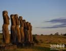 智利复活节岛未解之谜 石像从何而来