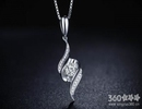 钻石吊坠背后的爱情物语